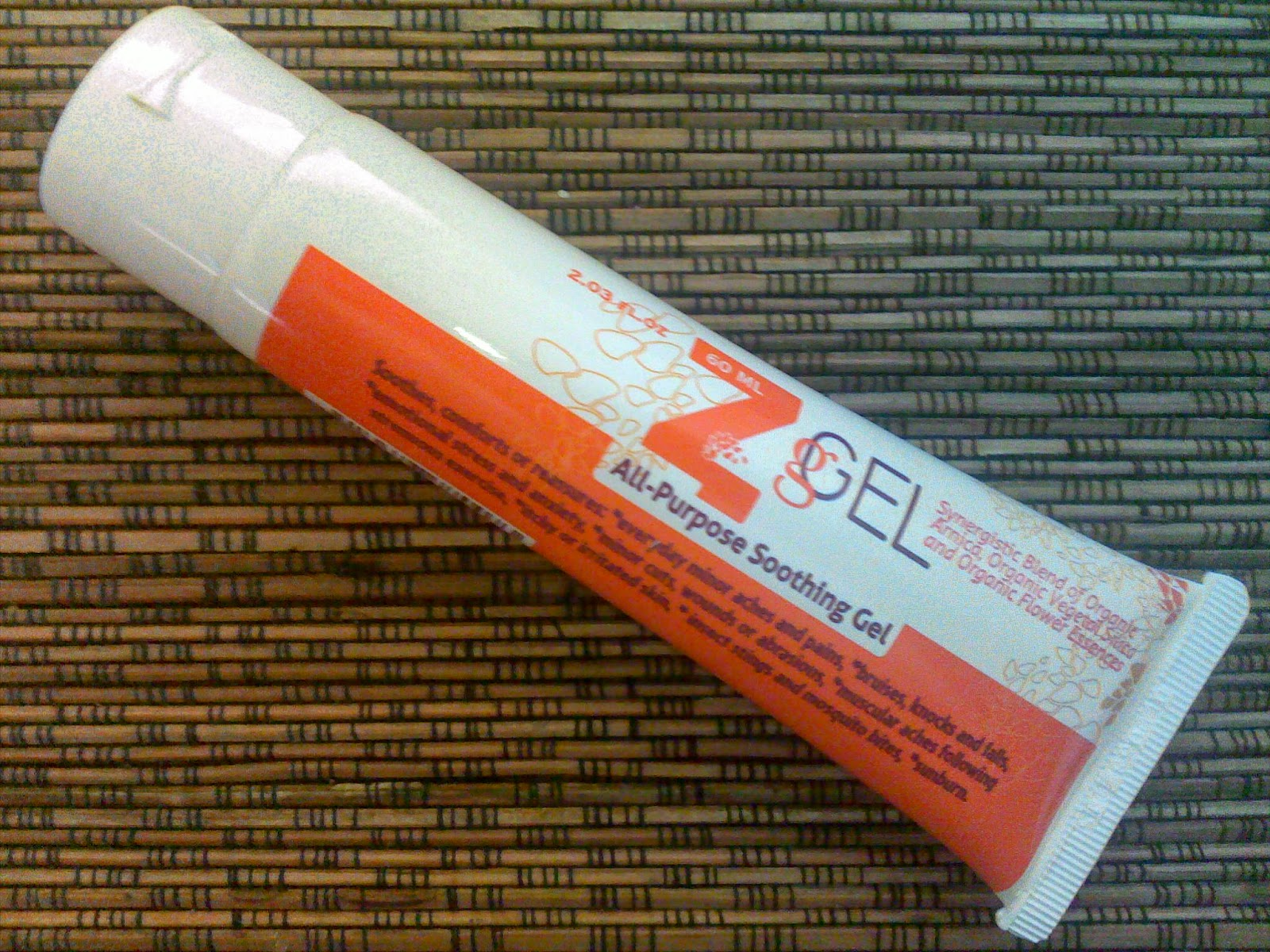Z-gel all purpose soothing gel
