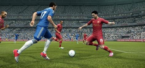 Cara Merebut Bola di PES 2015 PC dan PS3
