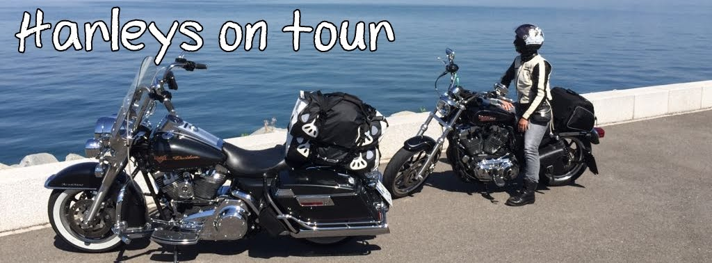 Harleys on tour