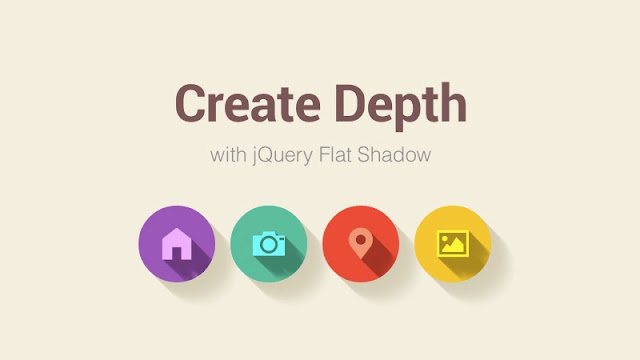 Add Depth to Flat UI with Flat Shadow.js