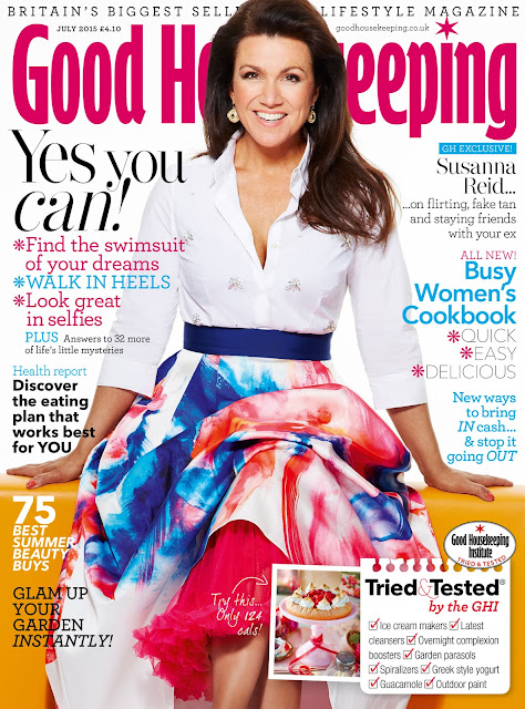 Journalist, Television Presenter @ Susanna Reid - Good Housekeeping, June 2015