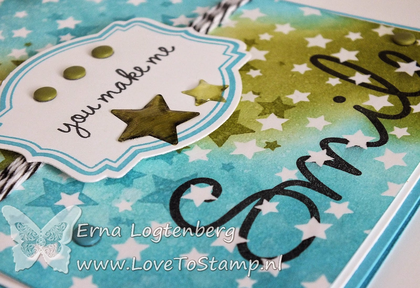 Stampin'Up! stampinup 'so you' lovetostamp erna logtenberg