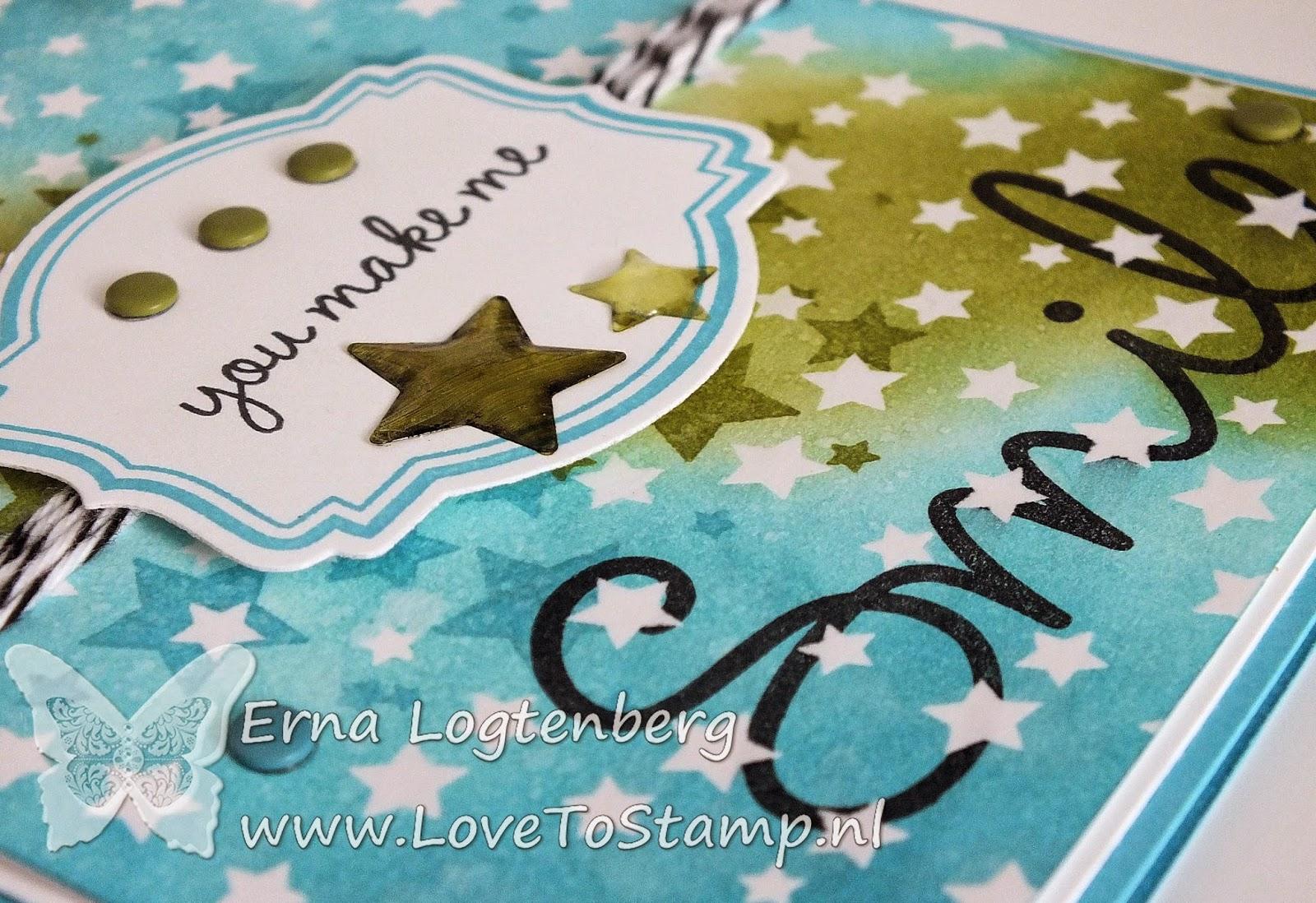 Stampin'Up! stampinup 'so you' lovetostamp erna logtenberg