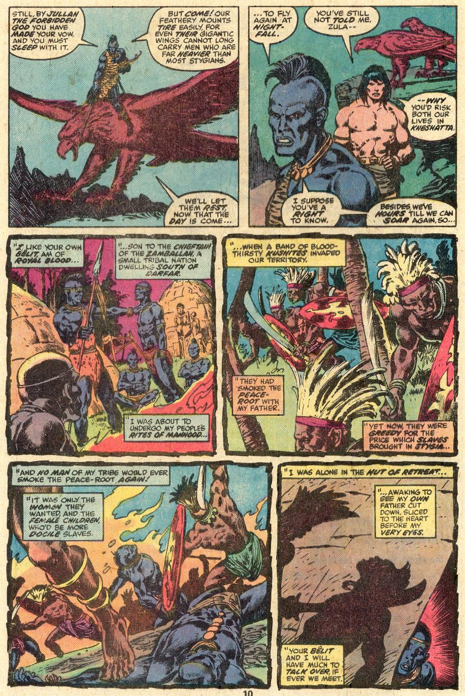 Conan the Barbarian (1970) Issue #85 #97 - English 7