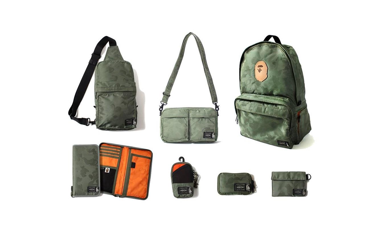 Hype street bape x porter 2013 collection for Bape x porter backpack