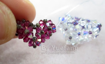 beaded-heart-ring-experimenting-with-3mm-bicones