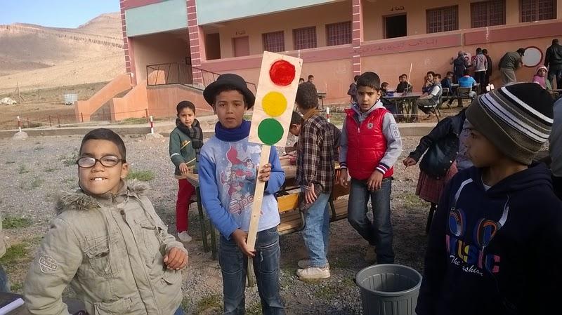 مجموعة مدارس تركمايت نيالة كلميم تحتفل باليوم الوطني للسلامة الطرقية
