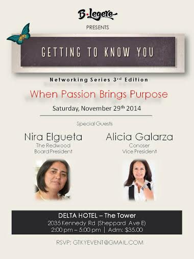 "FREE TICKET: THE ""GETTING TO KNOW YOU"" SERIES"