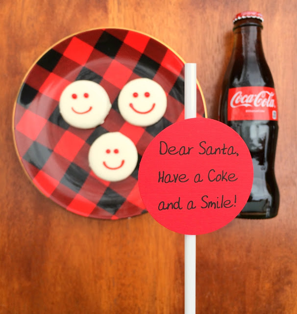 Christmas Eve Treats for Santa - A Coke and a Smile | www.jacolynmurphy.com