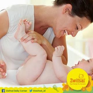 Ceria Bayi dan Bunda Bersama Zwitsal