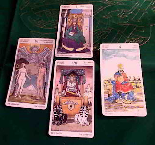Tirada de 4 cartas para Piscis