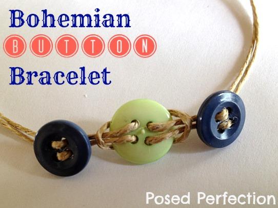 Bohemian Button Bracelet