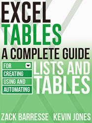 Excel Tables - A Complete Guide For Creating Using and Automating Lists and Tables