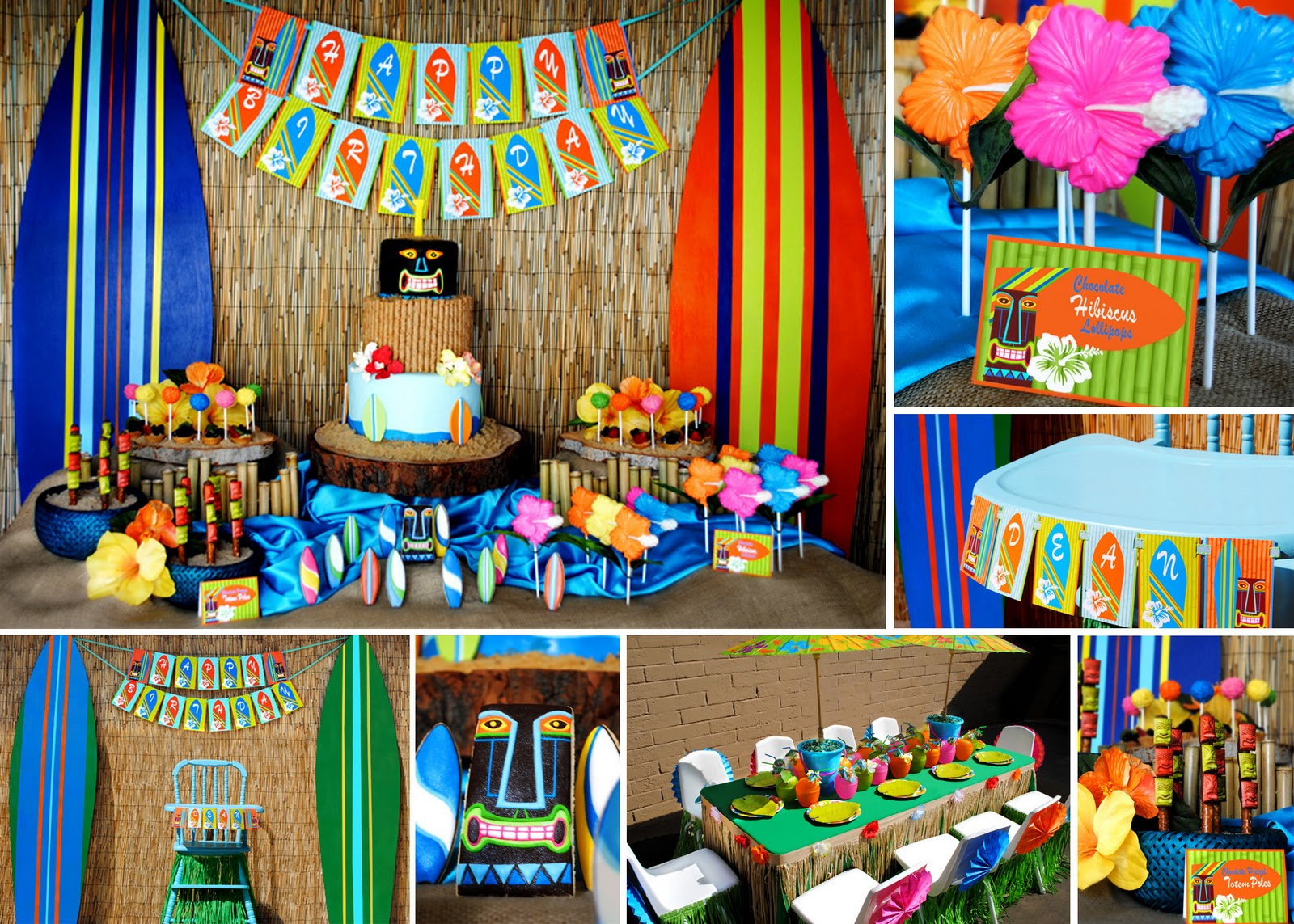 2013 Decoraci N De Fiestas # Muebles Hawaianos