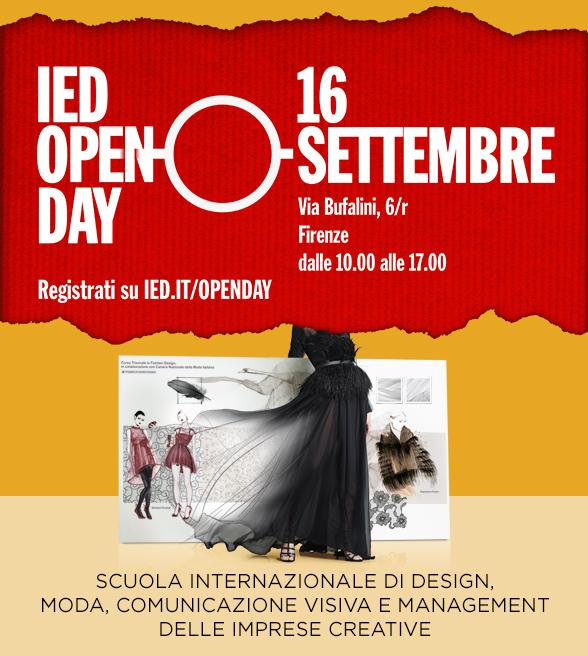 IED Firenze , IED Open day , Fashion Stylist , comunicazione , Culture & Trend Magazine,