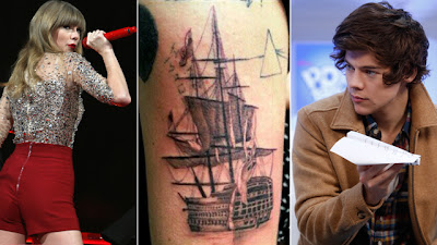 What do you think of Harry Styles new tat? (Photo: Gawker)