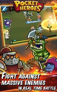 Pocket Heroes 2.0.0 Mod Apk (Unlimited Money)