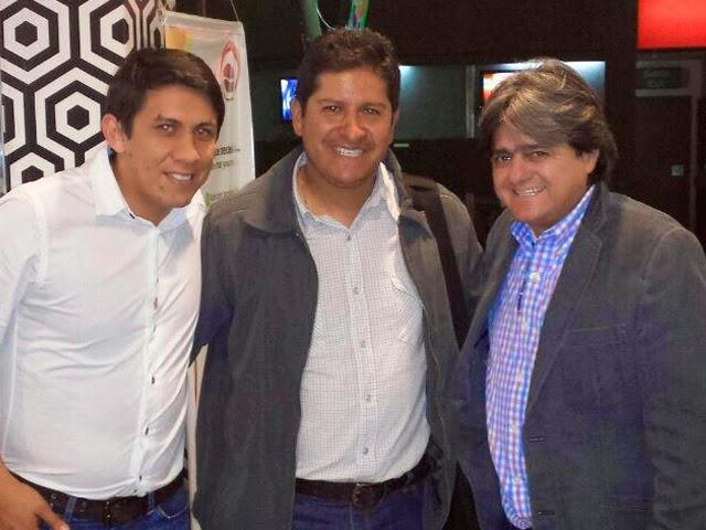 Oriente Petrolero - Yimy Montaño - Eduardo Villegas - Keko Álvarez - DaleOoo.com sitio del Club Oriente Petrolero