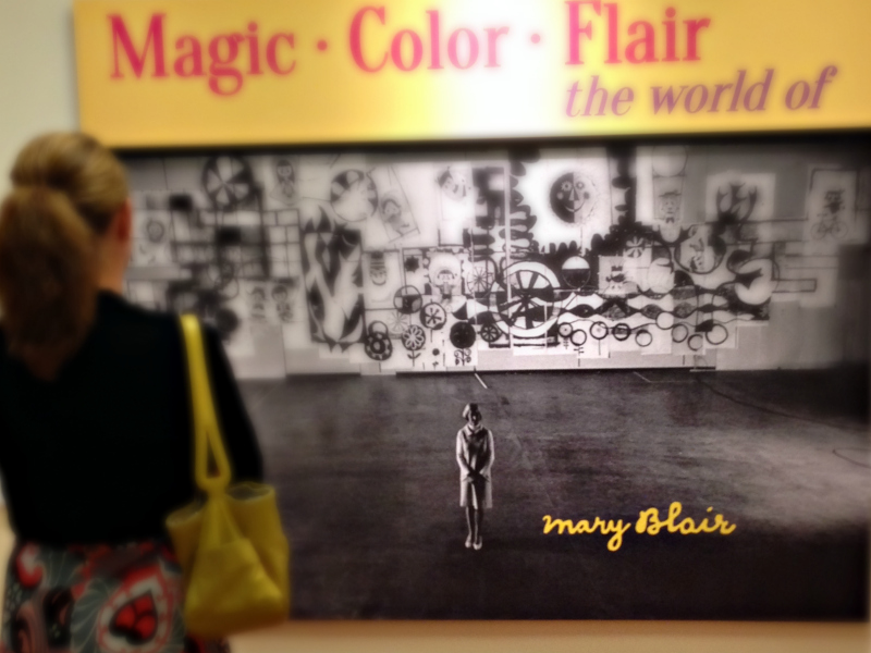 Mary Blair exhibit - Animate Your Night at The Walt Disney Family Museum | www.anyhappylittlethoughts.com