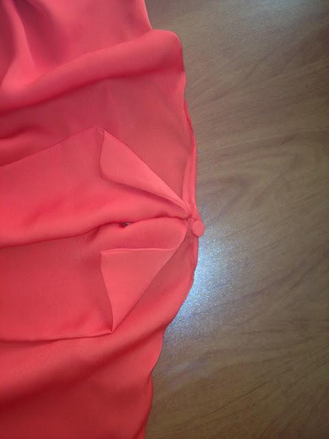 Mercan Rengi Bluz