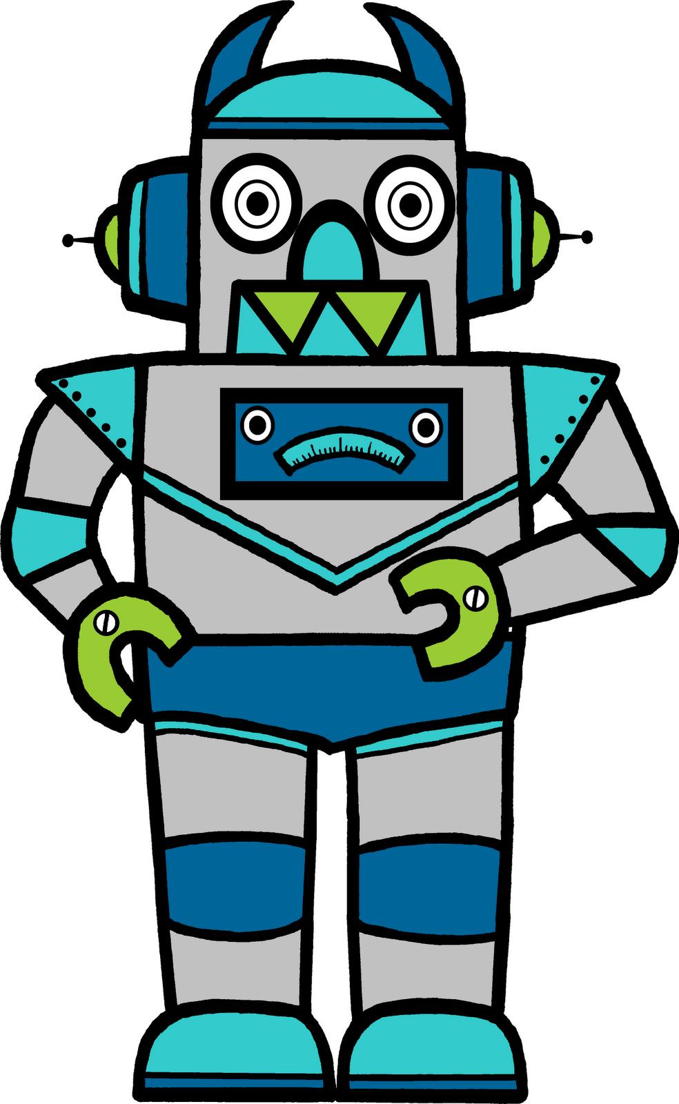 Anallize Gadget Classroom Treasures Robot Clipart