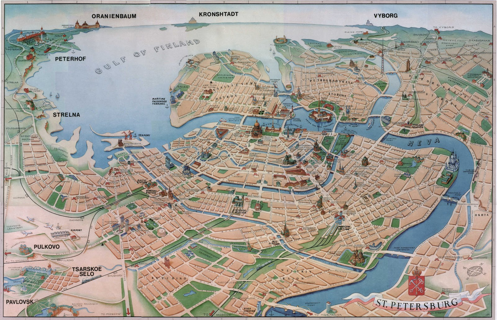 Map of cities Map of Copenhagen – Copenhagen Map Tourist