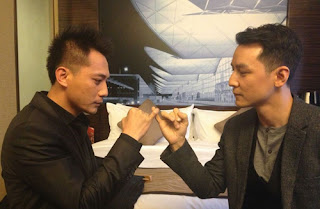 Daniel Wu plays matchmaker for unborn daughter