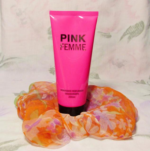 hidratante pink femme