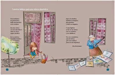 imagen para poesía de Elsa Bornemann Manual de lengua