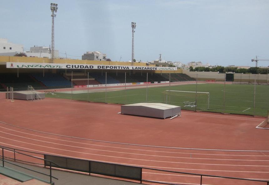 Estadios de f tbol en espa a arrecife ciudad deportiva for Puerta 8 ciudad deportiva