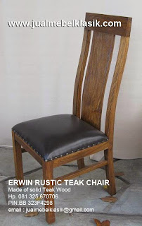 Supplier kursi makan solid jati kursi makan rustic jati kursi makan jati tpk mebel jati jepara minimalist