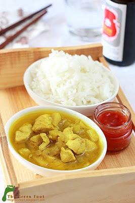 Curry galben de pui