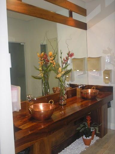 decoracao lavabo rustico : decoracao lavabo rustico:ARK – Arquitetura: Lavabo Rústico