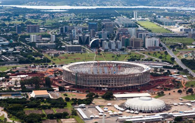 Estádio Nacional vai sediar jogo entre Flamengo e Santos