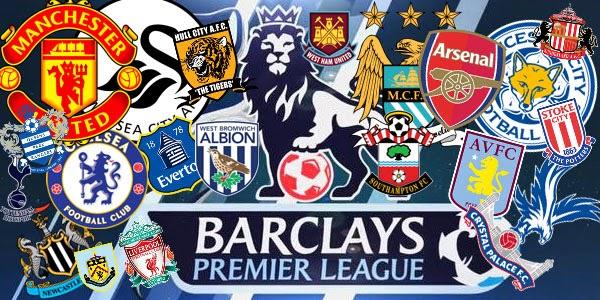 Jadwal Pertandingan Liga Inggris Sabtu-Minggu 7-8 Maret 2015
