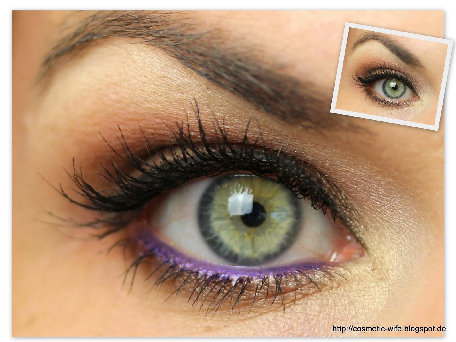 noch ein Make up Blog ...: Ein Make up - immer wieder anders