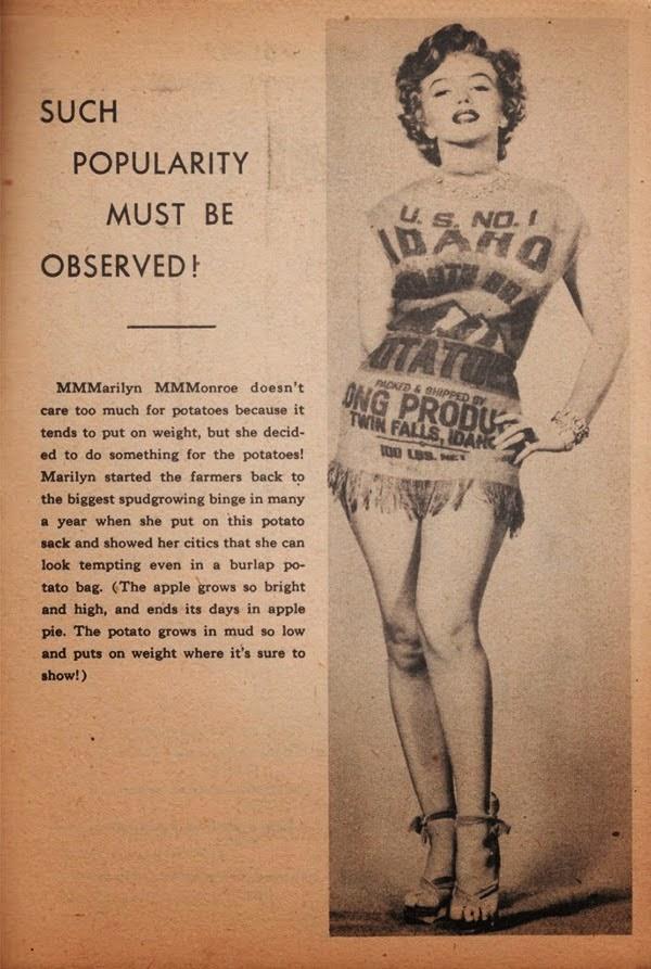 Imagenes cinéfilas - Página 5 Marilyn-and-the-Potato-Sack-Dress-c-8