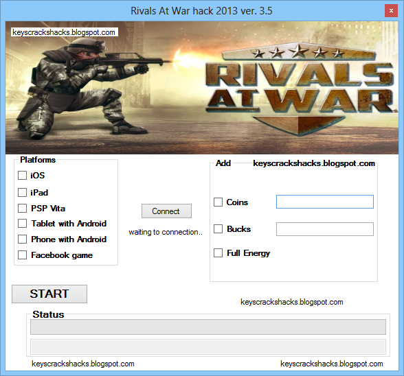 Rivals at War Hack Cheats Trainer Tool 100% Working | Explosionfile