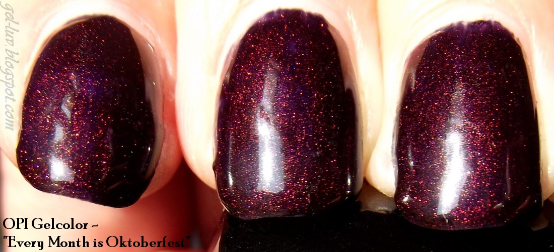 Gel-Luv: A GEL Polish Blog!: Every Month is Oktoberfest!