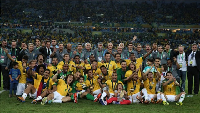Brazil wins Confederations Cup 2013