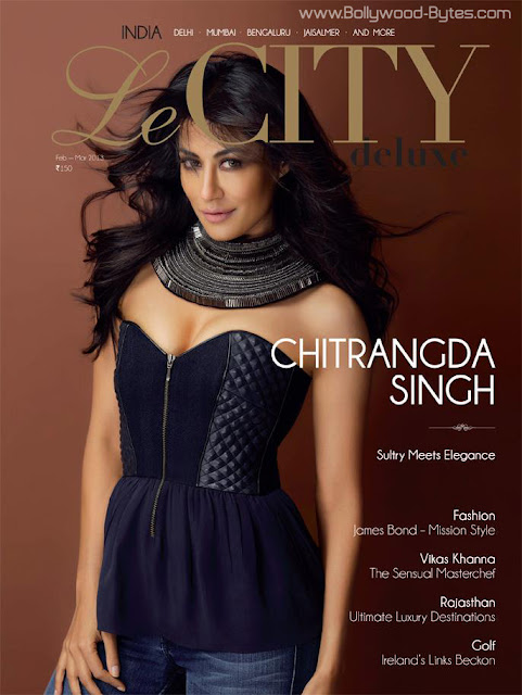 Hot Chitrangda Singh Cover Le CITY deluxe March