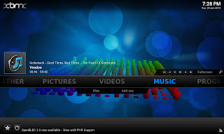XBMC for Android - default skin