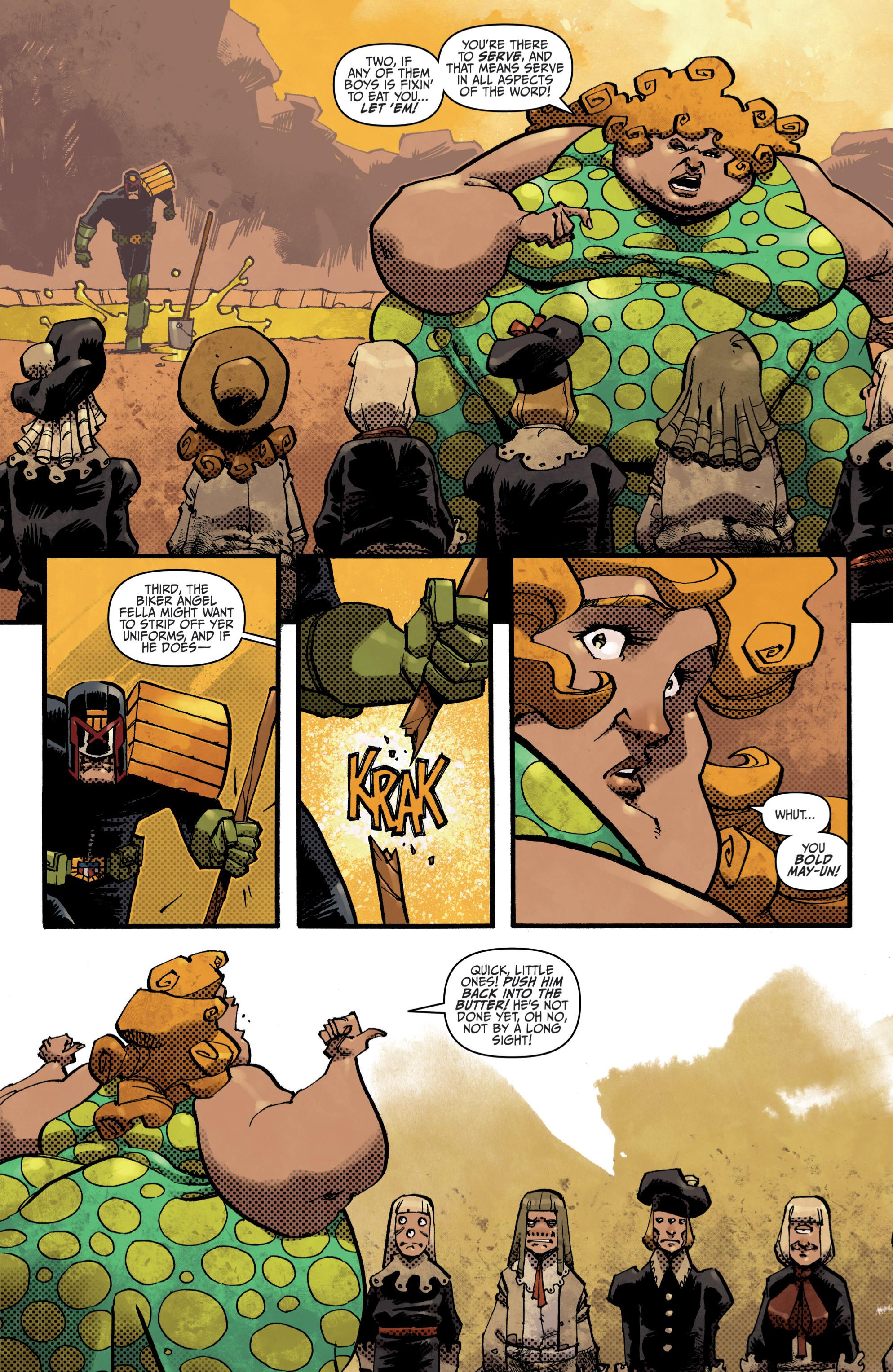 Read online Judge Dredd (2012) comic -  Issue # _TPB 3 - 74