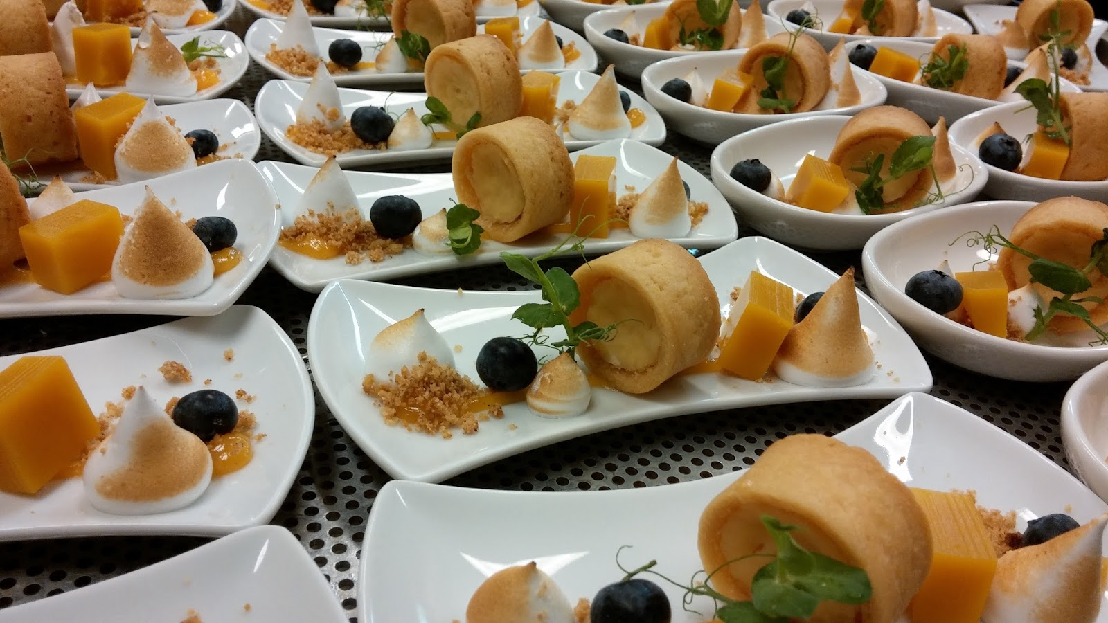 Chef D S Chocolate Fever Plated Miniature Buffet Desserts