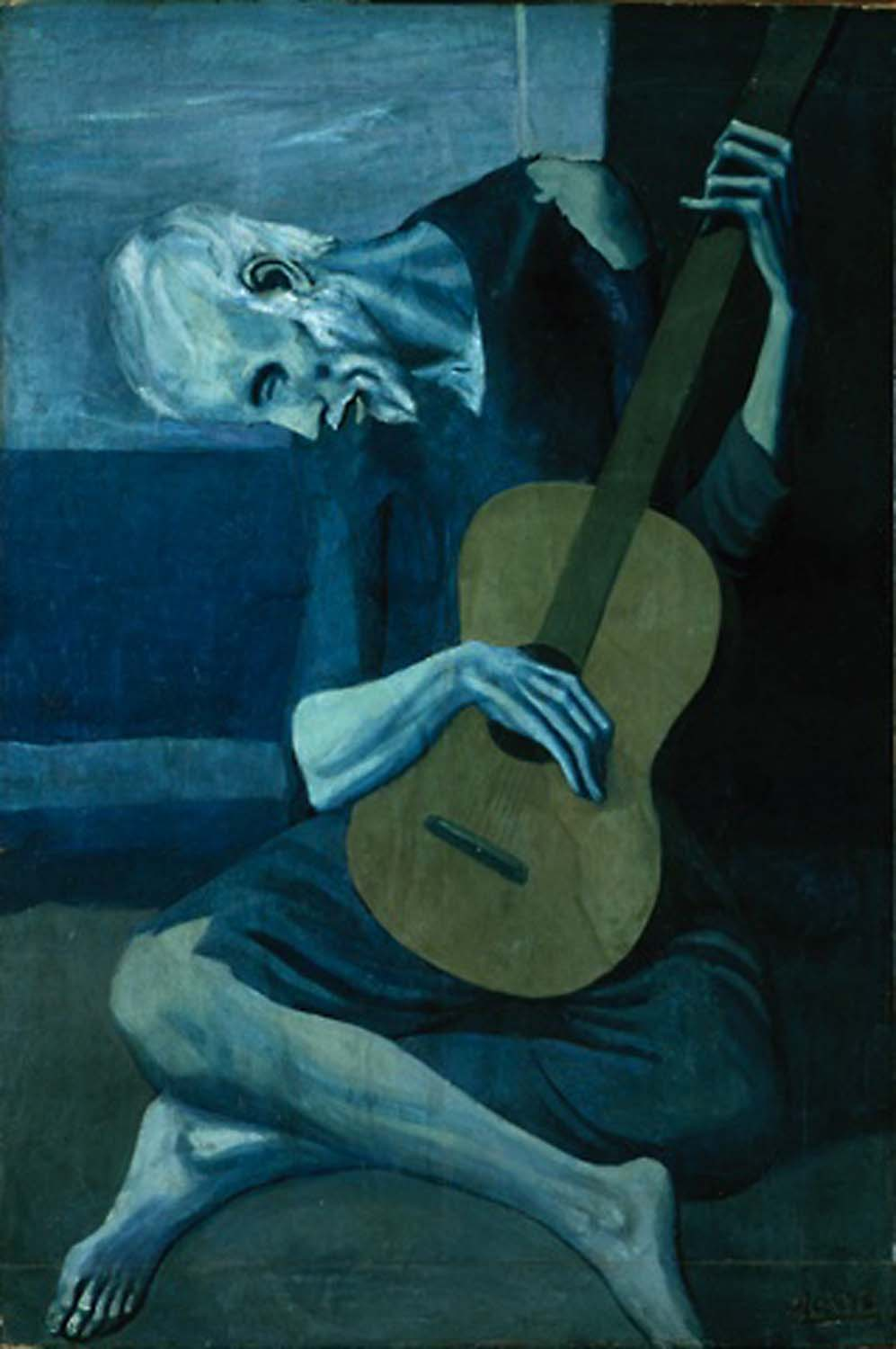 picasso girl before a mirror analysis