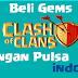 Tutorial Cara Membeli Gems COC Dengan Kartu Telkomsel Indosat XL