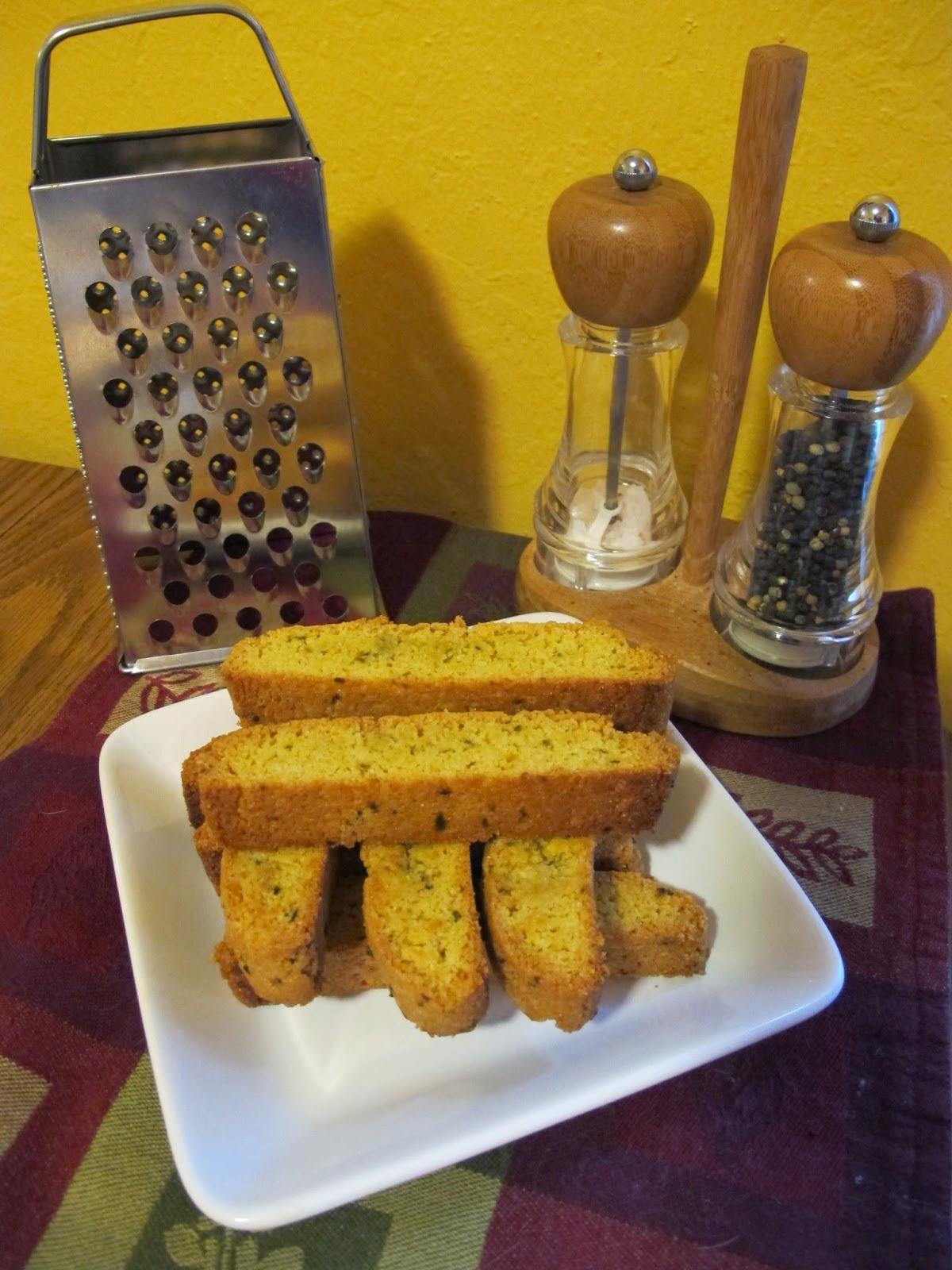 Krusteaz Blogger Bake-Off - Jalapeno Cheddar Cornbread Biscotti