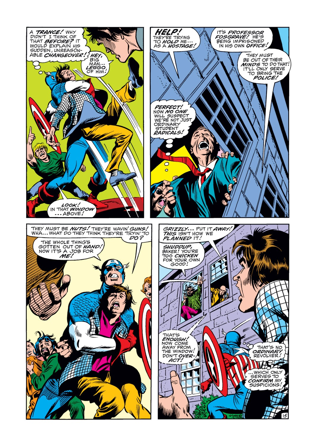 Captain America (1968) Issue #120 #34 - English 16
