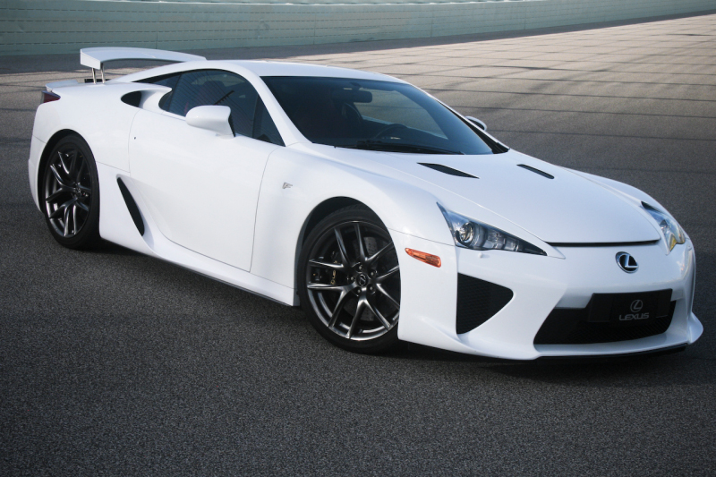 Fast Cars, By Andy and Francisco: Lexus Lfa