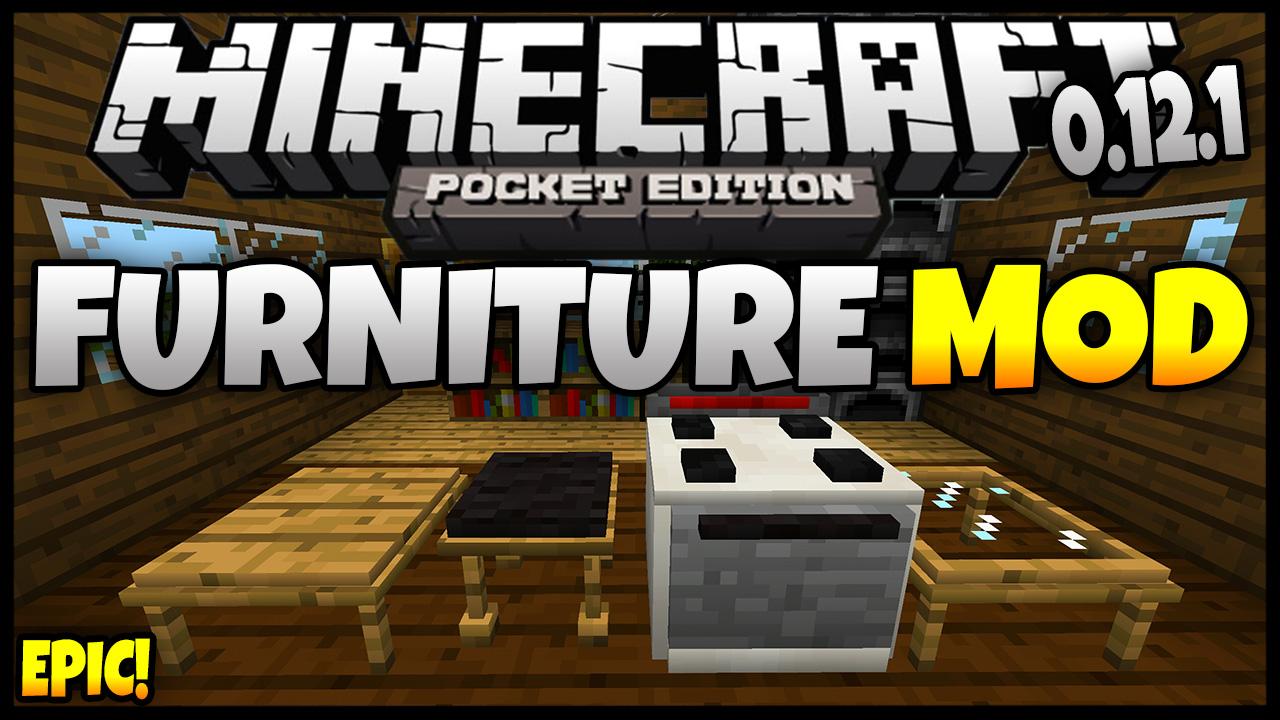 Furniture Mod Para Minecraft Pocket Edition Pe Download